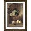 Buy Art For Less Museum Masters 'Grapes, Peaches and Quinces in a Niche, 1883' by Frans Snyders Framed Painting Print