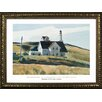 Buy Art For Less Museum Masters 'Hill and House Cape Elizabeth, Maine, 1927' by Edward Hopper Framed Painting Print