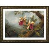 Buy Art For Less Museum Masters 'Orchids and Hummingbirds' by Martin Johnson Heade Framed Painting Print