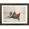 Buy Art For Less Museum Masters 'The Dory' by Winslow Homer Framed Painting Print