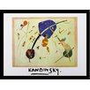 Buy Art For Less Museum Masters 'Vers Le Blue, 1939' by Wassily Kandinsky Framed Painting Print
