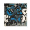 HG Global Beginnings #4 Limited Edition Painting Print in Blue