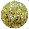 Admired by Nature Silver Glitter Ball Ornament (Set of 6)