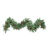 GSC, Inc 200 9' Tips Christmas Pine Garland with Natural Pine Cone