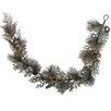 Admired by Nature Metallic Pine Cone Ball Ornament Berry Cedar Christiams Garland