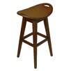 Carolina Accents Thoroughbred 30'' Swivel Bar Stool
