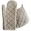 Two Lumps of Sugar 2 Piece Oven Mitt Potholder Set