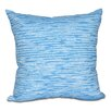 Breakwater Bay Hancock Marled Knit Geometric Print Outdoor Throw Pillow