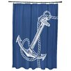 Breakwater Bay Hancock Anchored Geometric Print Shower Curtain