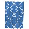Breakwater Bay Hancock Anchor's Up Geometric Print Shower Curtain