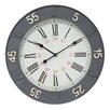 "Breakwater Bay 27"" 24 Hour Wall Clock"
