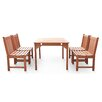 Breakwater Bay Bucksport 5 Piece Dining Set