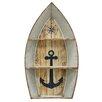 Breakwater Bay Nautical Metal Boat Shelves