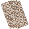 Breakwater Bay Hancock Leeward Key Geometric Napkin (Set of 4)