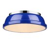 Breakwater Bay Bowdoinham 1 Light Flush Mount