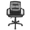 Urban Shop High-Back Leather Executive Office Chair
