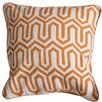 Harp and Finial Powell Cotton Throw Pillow