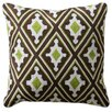 Harp and Finial Alice Cotton Throw Pillow