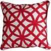 Harp and Finial Bedford Cotton Throw Pillow