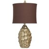 Harp and Finial Brisbane 34.5'' Table Lamp with Drum Shade