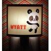 Common Rebels Yellow Panda Personalized Night Light