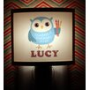 Common Rebels Blue Owl Personalized Night Light