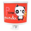 Common Rebels P is for Panda Night Light