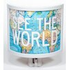 Common Rebels See the World Night Light