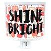Common Rebels Shine Bright Night Light