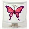 Common Rebels Purple Butterfly Night Light