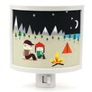 Common Rebels Get out Camping Night Light