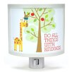 Common Rebels Do All Things with Kindness Night Light