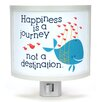 Common Rebels Happiness is a Journey Night Light