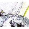 MADEMOISELLE TISS Wandbild Marine, Kunstdruck
