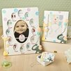 Fashion Craft 3 Piece Adorable Giraffe and Elephant Baby Gift Picture Frame Set