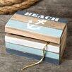 Fashion Craft Anchor Hinged Trinket Box