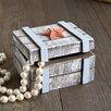 Fashion Craft Decorative Wooden Starfish Jewelry Box