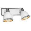 LightPrestige Design-Wandleuchte 2-flammig Fermo