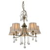 LightPrestige Udine 5 Light Crystal Chandelier