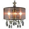 LightPrestige Marsala 4 Light Drum Pendant
