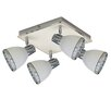 LightPrestige Fermo 4 Light Ceiling Light