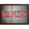 GiggleBeaver Carnival Light Family Famed Graphic Art