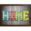 GiggleBeaver Carnival Light Home Famed Graphic Art