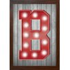 GiggleBeaver Carnival Light Letter Famed Graphic Art