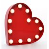 GiggleBeaver Carnival Light Heart Wall Decor