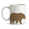 GiggleBeaver Woodland Creature Comforts Bear Mug (Set of 2)