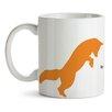 GiggleBeaver Woodland Creature Comforts Fox Mug (Set of 2)