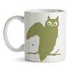GiggleBeaver Woodland Creature Comforts Owl Mug (Set of 2)