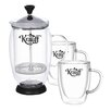 Krauff Term 3-Piece Coffe Set