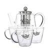 Krauff Term 5-Piece Glass Tea Set